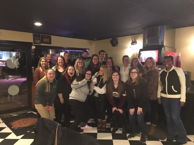 photo of the entire capstone group fall 2018